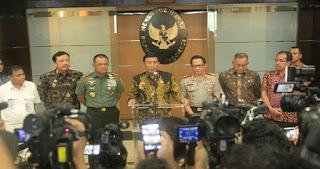 Ada Amunisi Tajam di Impor Senjata Polri, Wiranto : Dititipkan ke Mabes TNI