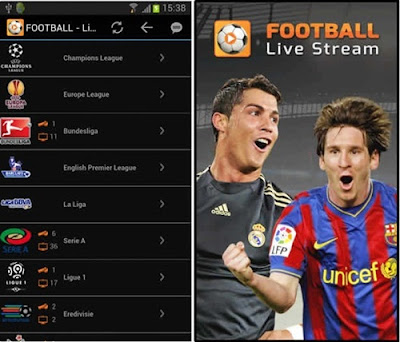 aplikasi tv sepak bola soccer live stream