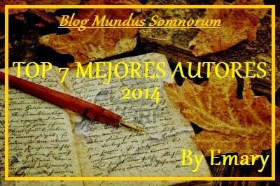 Top 7 Mejores Autores 2014
