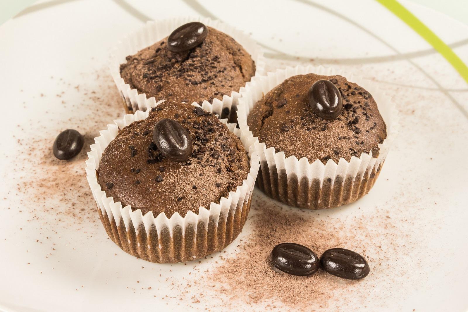 #Kulinarnie: Muffiny kawowe z białą czekoladą