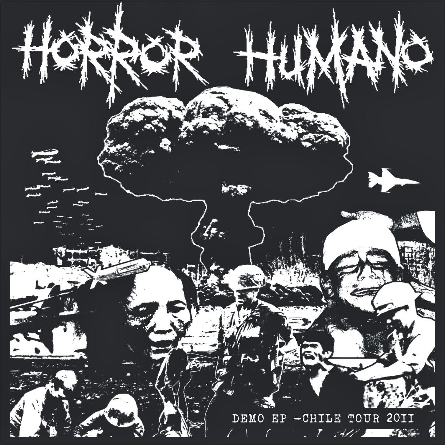Metal Brutal Argentino 1 01 14 Tendencies Kaos Golden Sabotage Hitam Xxl Horror Humano Demo Ep Chile Tour 2011
