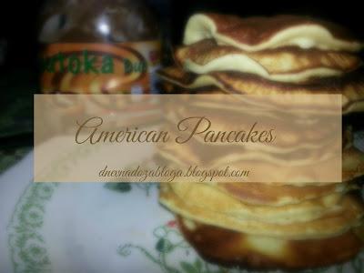 (NE) KUHAJTE SA MNOM #1 : American Pancakes
