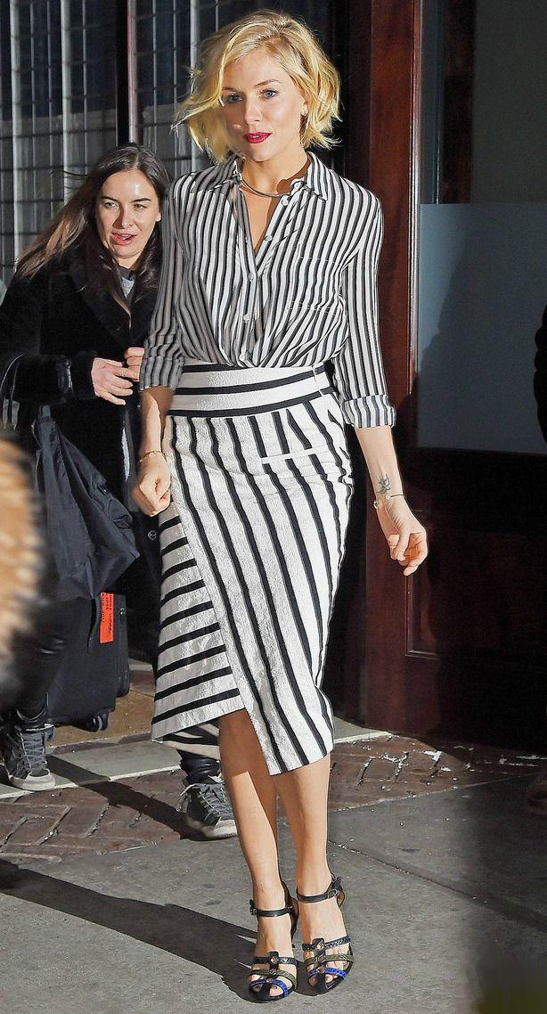 Estilo fashionista: Sienna Miller
