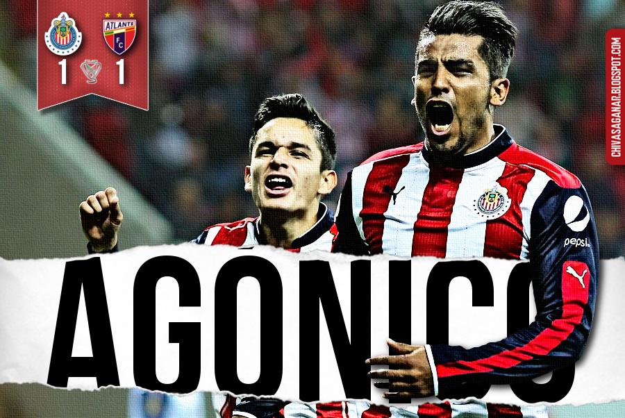 Copa MX : CD Guadalajara 1-1 Atlante FC - Clausura 2017 - Jornada 1.