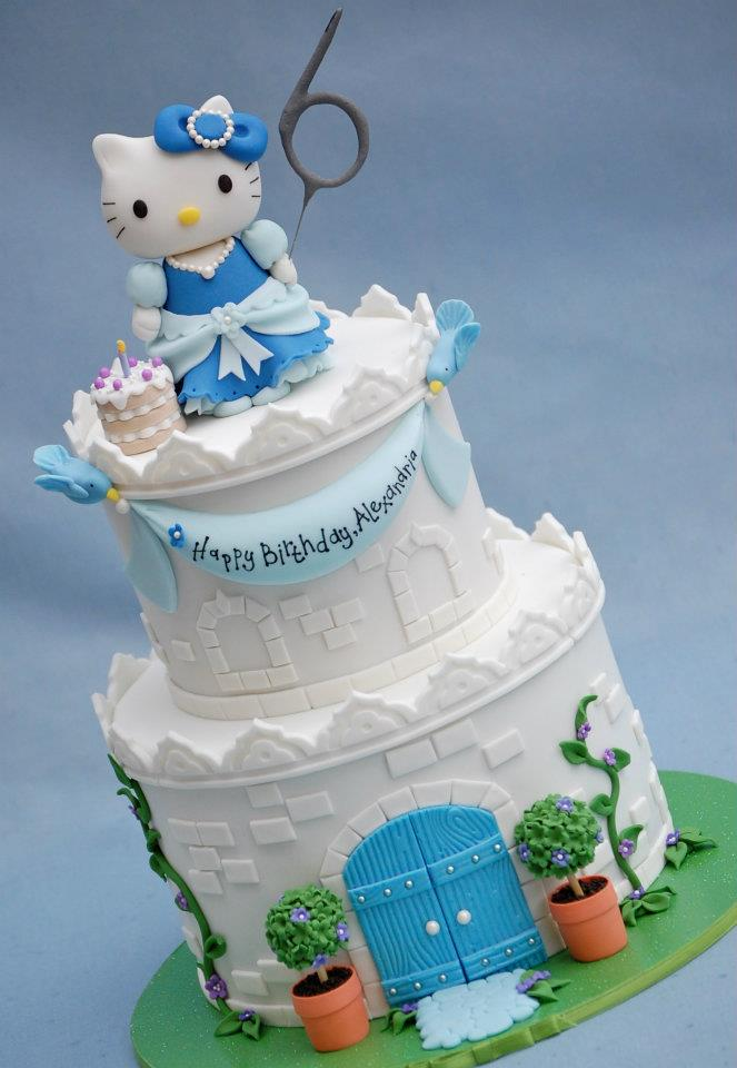 Birthday Cake Hello Kitty Cakes