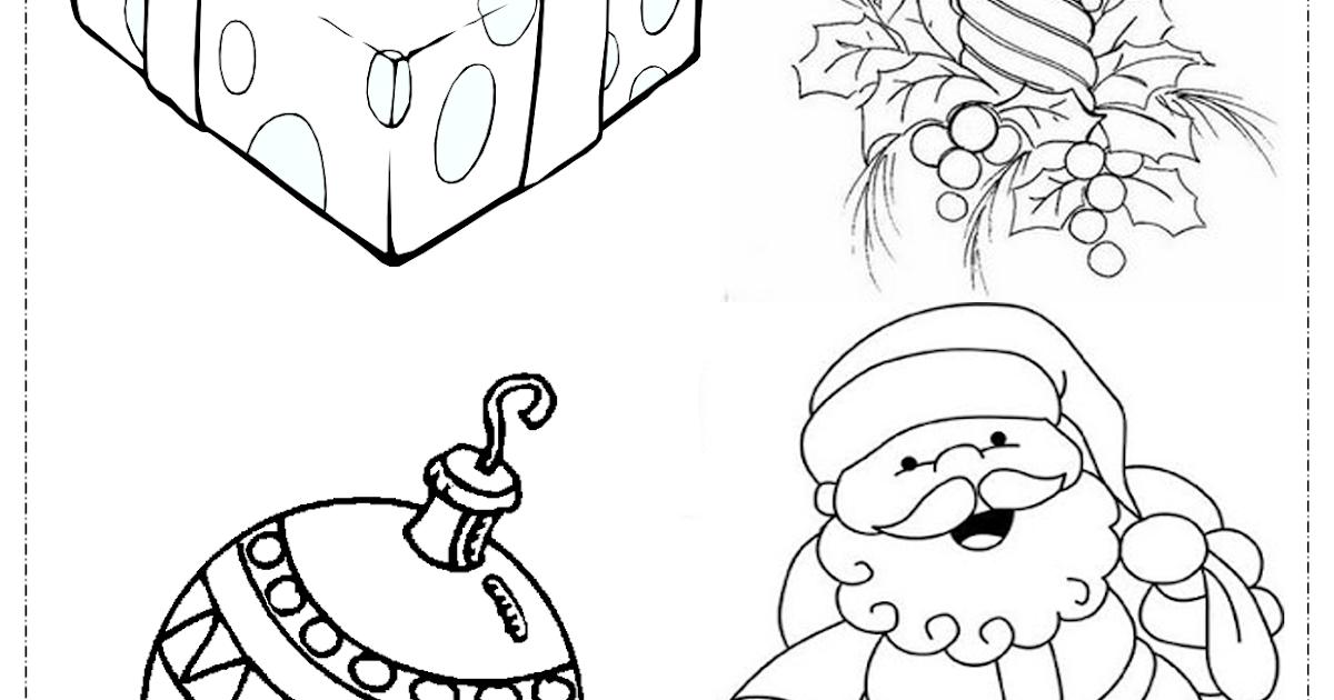 Atividades Escolares: Desenhos De Natal Para Colorir E