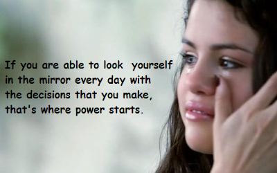 """Selena Gomez Quotes: The Mirror"""