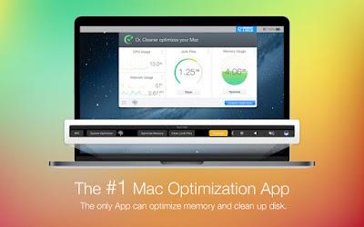 تطبيق Dr. Cleaner لمراقبة وتحسين أداء النظام لمستخدمي ماك