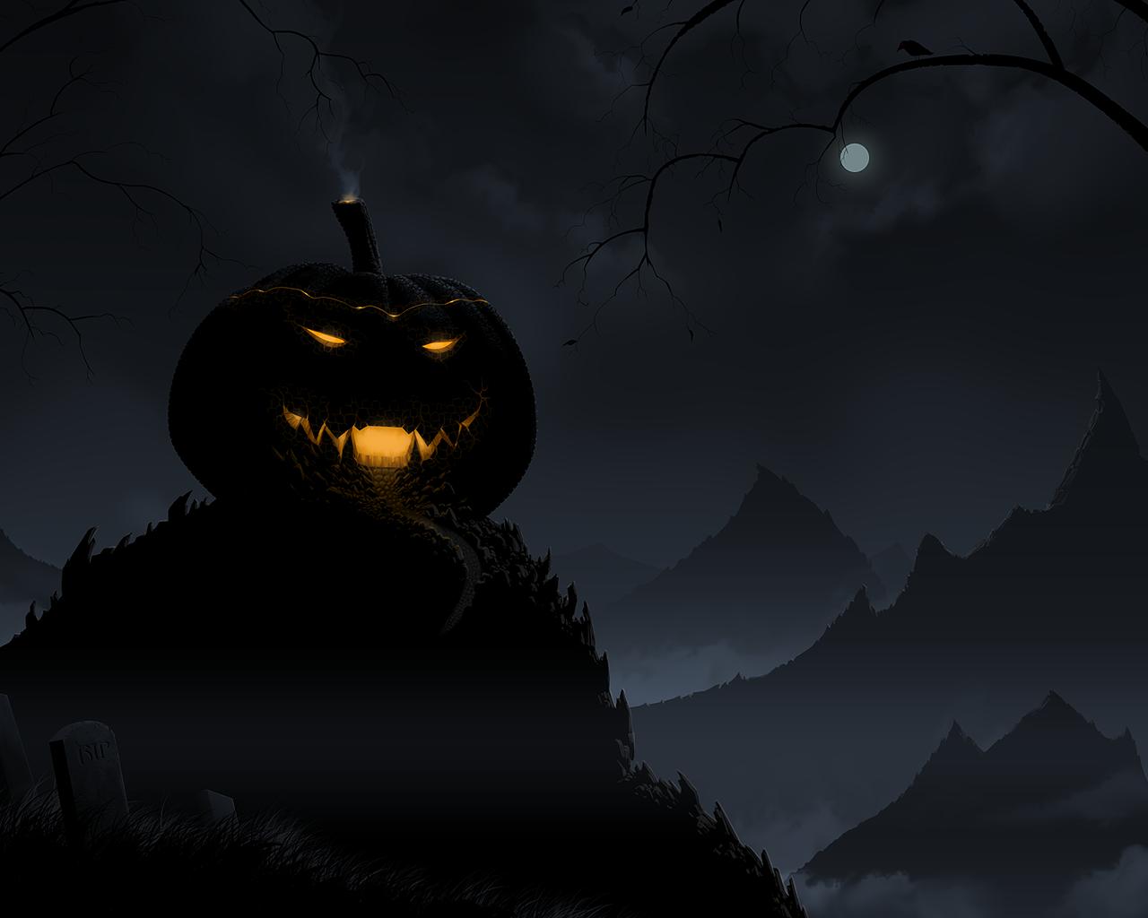 Halloween wallpapers free halloween wallpapers - Scary halloween wallpaper ...