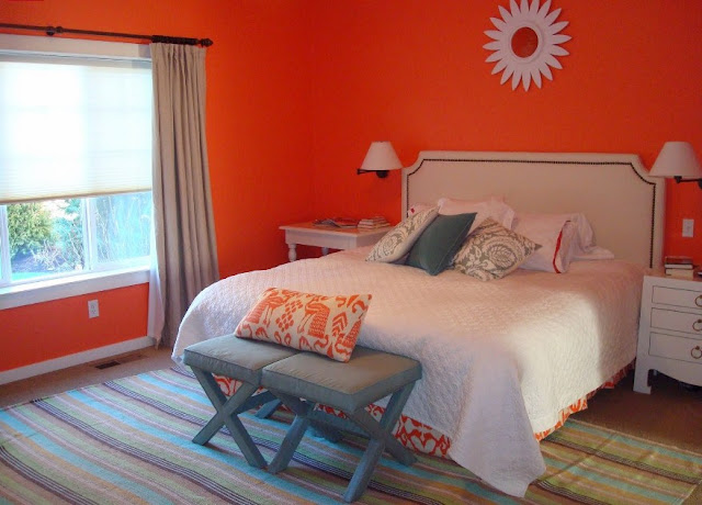 desain kamar tidur utama minimalis ukuran 3x4