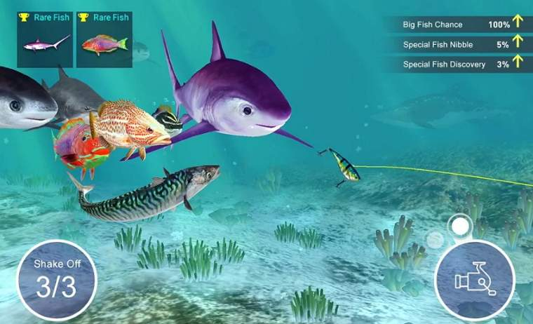 Fishing Strike Gameplay Screenshot