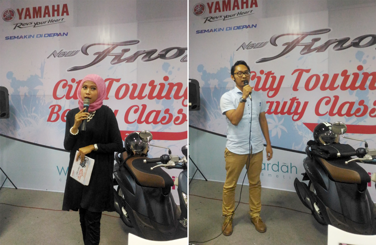 Beauty Class & City Touring With Yamaha Fino