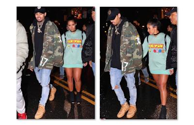 Vanessa Vargas Chris Brown New Girlfriend Rihanna