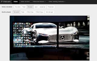 IP Webcam Web Interface Video