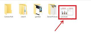 Cara mencetak foto dengan microsoft word