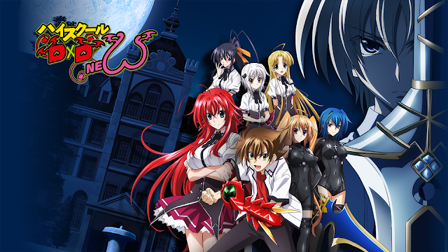 High School DxD New BD (Episode 01 – 12) Sub Indo + OVA