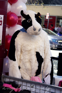 Wowcow Burwood - person dressed as a cow