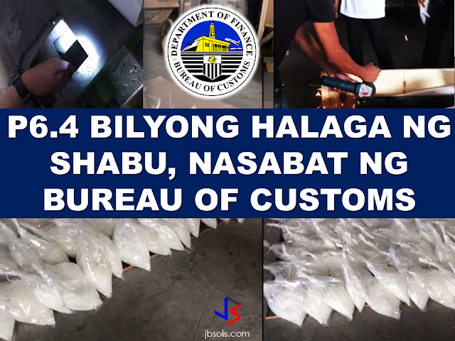 "The Bureau of Customs discovered P6.4 Billion worth of the illegal substance commonly known as ""shabu"" smuggled inside metal cylinders in Valenzuela. A total of 604 kilograms of shabu hidden inside 5  metal cylinders was discovered by BOC Officers headed by BOC Chief Nicanor Faeldon. A social media post with video clips from the BOC Commissioner shows that the huge amount of illegal substance was hidden inside metal cylinders. The authorities needed to cut the cylinders open with the use of an angle grinder to reveal what's inside it.     The BOC operation in Navotas revealed that drug smugglers are doing everything to keep their trade alive and becoming more resourceful in spite of the strict government campaign to end drug trade in the country. Netizens lauded the BOC officers being kin in spotting illegal drugs no matter how ingenious the smugglers are.  Source: Commissioner Faeldon FB Page"