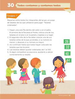Apoyo Primaria Desafíos matemáticos 1er grado Bimestre 3 lección 30 Todos contamos y contamos todo