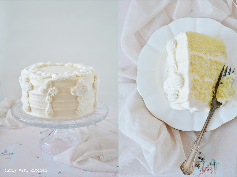 Lemon Cake, Lemon Poppyseed Cake, Cake Decorating Ideas, Buttercream Flowers, Wedding Cake