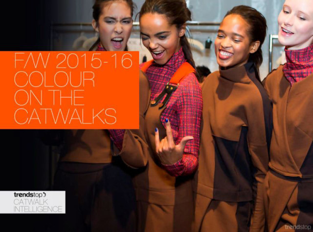 TRENDS //  TRENDSTOP - WOMEN'S RUNWAY - KEY COLOR REPORT F/W 2015-16