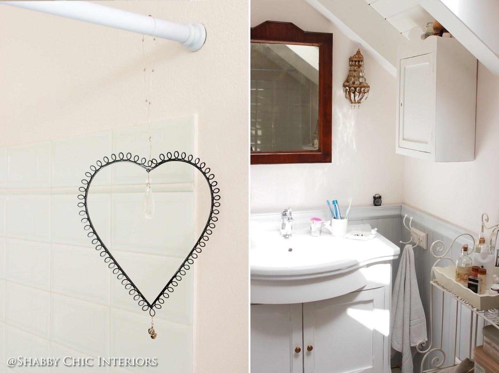 Un bagno in stile shabby - Shabby Chic Interiors