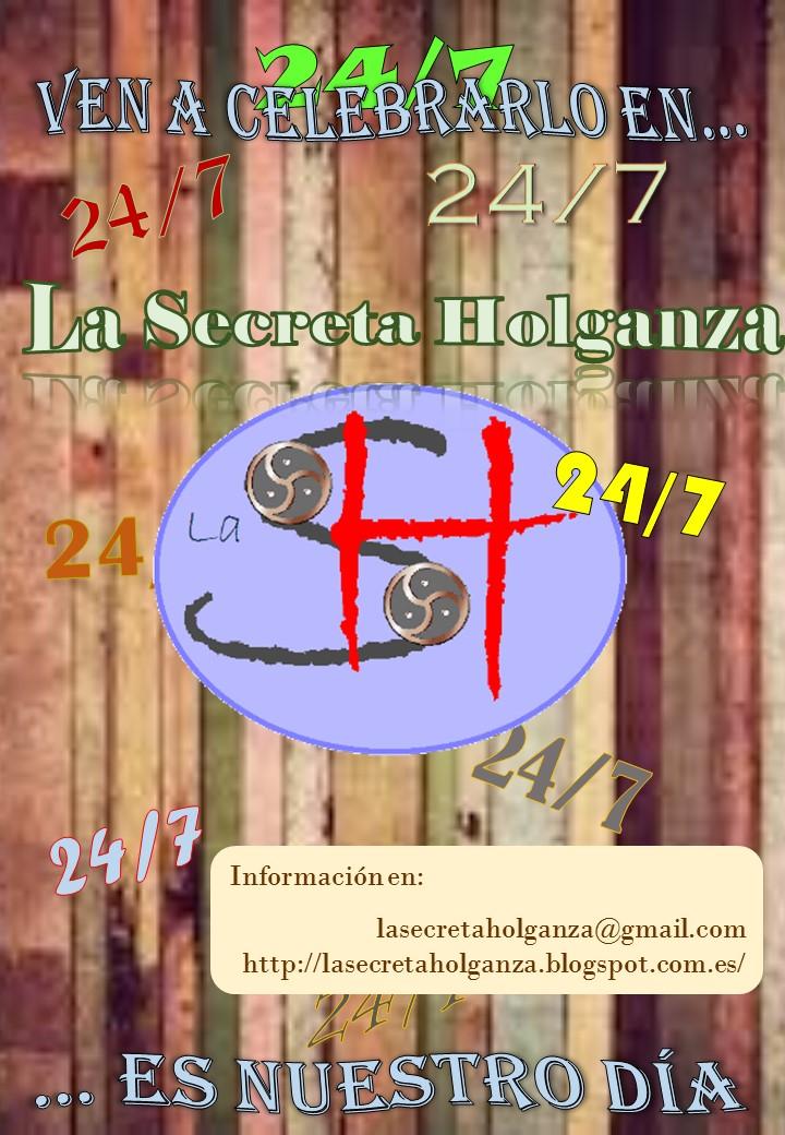 Fiesta 24/7 en La Secreta Holganza (Bilbao) @ Bilbao   País Vasco   España