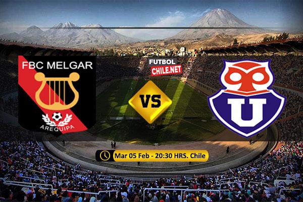 Mira Melgar vs Universidad de Chile en vivo y online por la 2da Ronda Ida de la Copa Libertadores