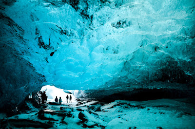 Explore a glacier cave or ice cave in during your 5-day winter itinerary in Iceland