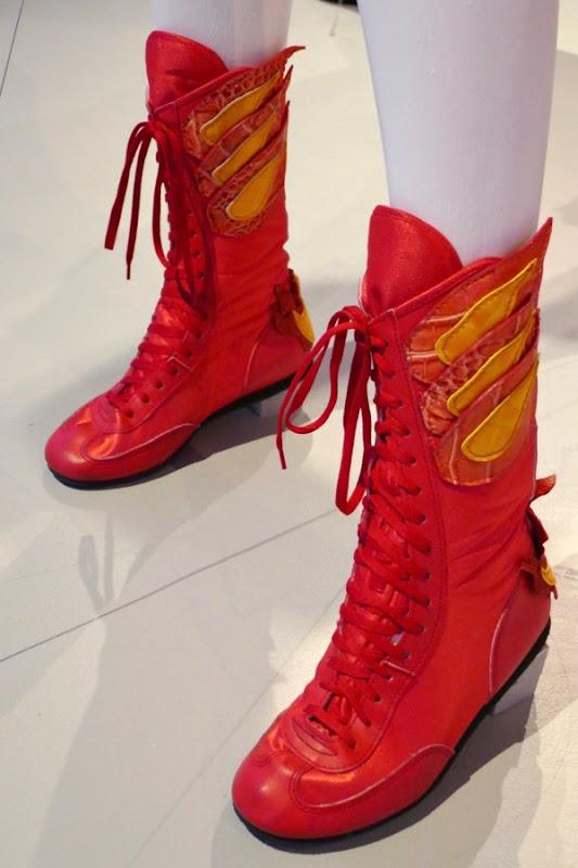 GLOW season 1 Zoya costume flame boots