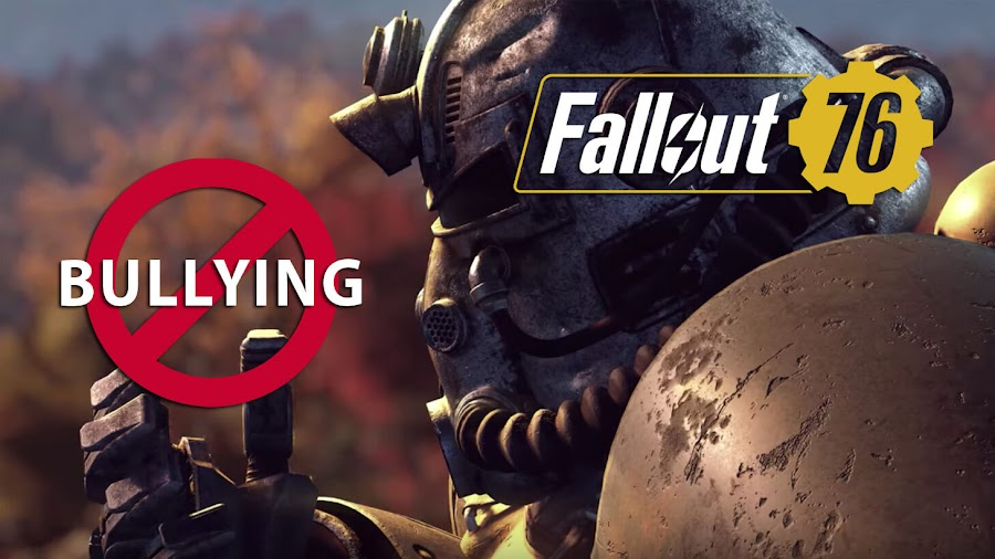 fallout 76 anti-bullying details