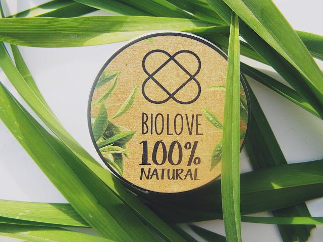 Biolove peeling do stóp zielona herbata