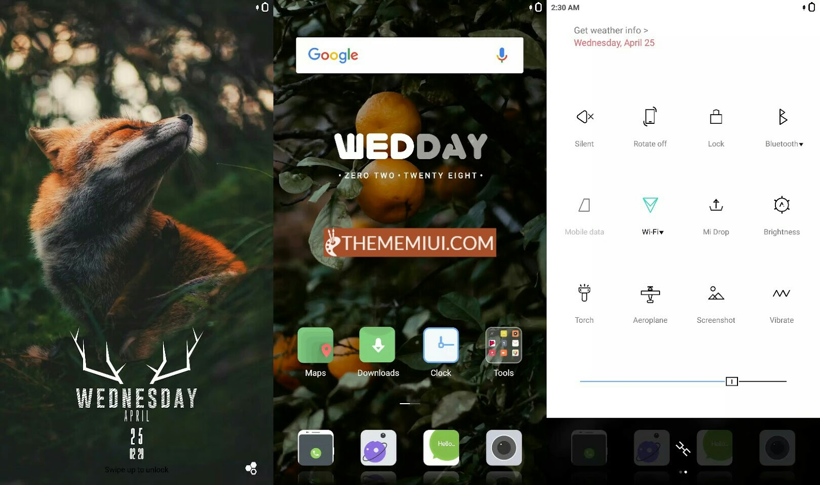 Flox Ui Light v3 MIUI 10 Theme thememiui.com