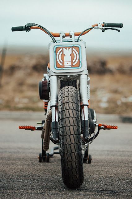 Harley Davidson XL1200R By Bang Moto Hell Kustom