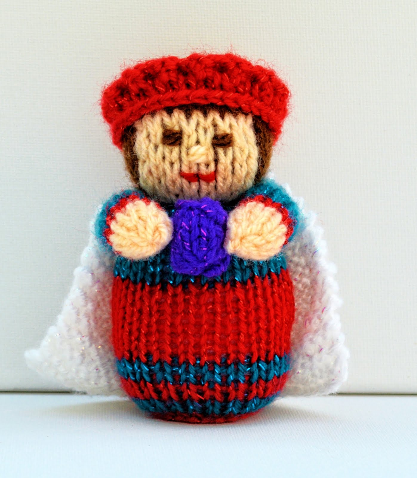 Click Here To Buy This Doll Knitting Pattern