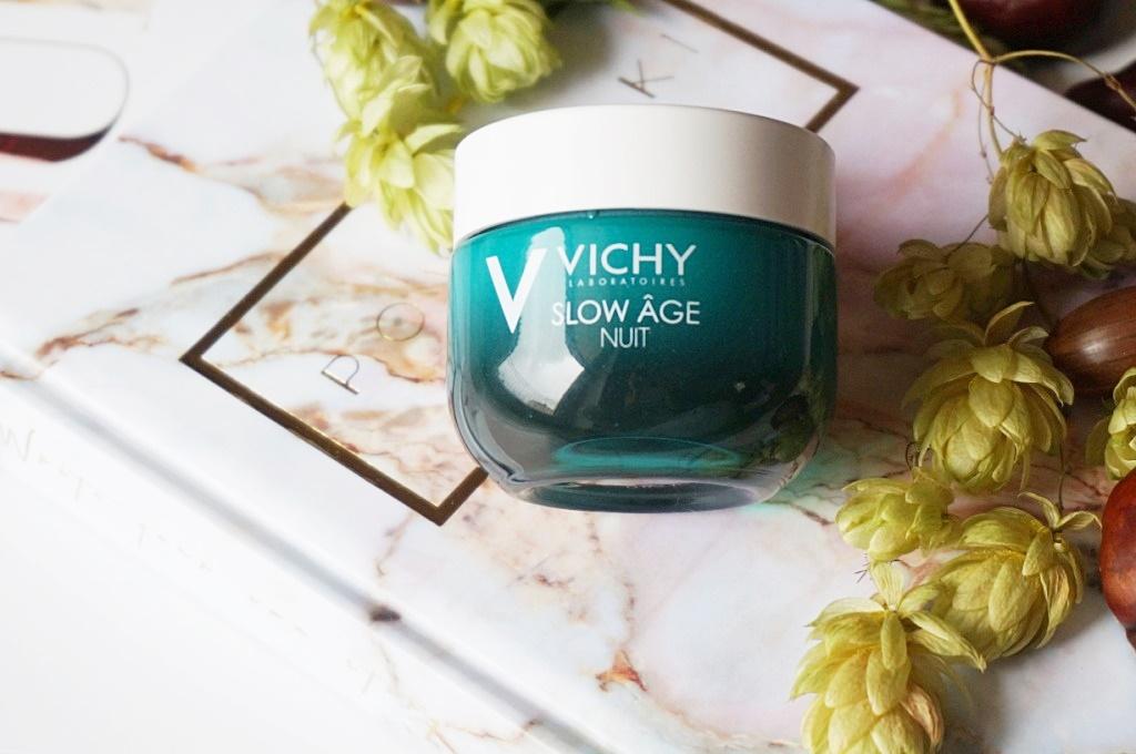 Vichy Slow Age Nuit krem-maska pielęgnacja skóry