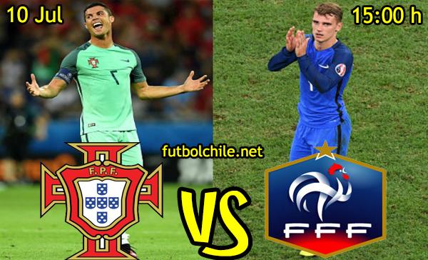VER STREAM RESULTADO EN VIVO, ONLINE: Portugal vs Francia