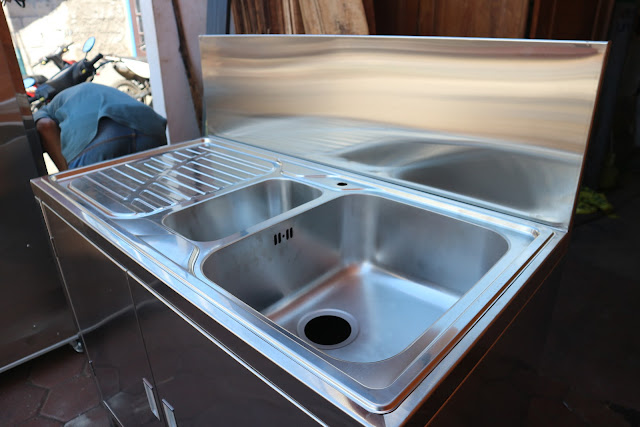 Jual Kitchen Sink Stainless Steel Murah dan Bagus