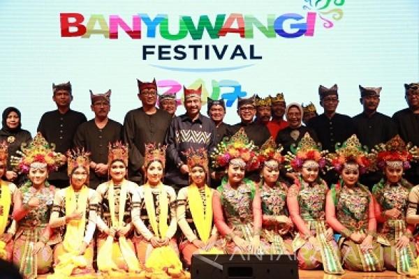 Banyuwangi kota festival terbaik di Indonesia.