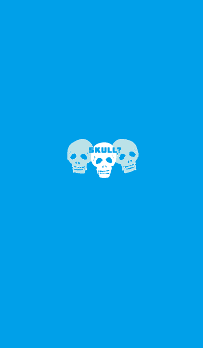 Is it a blue skull?