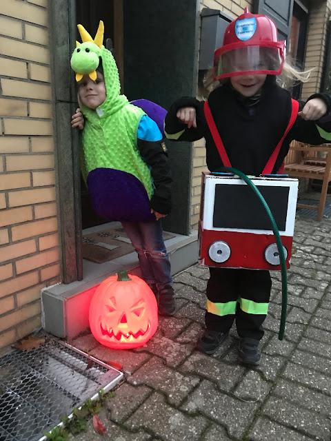 Halloween mit Kindern - Kostüme