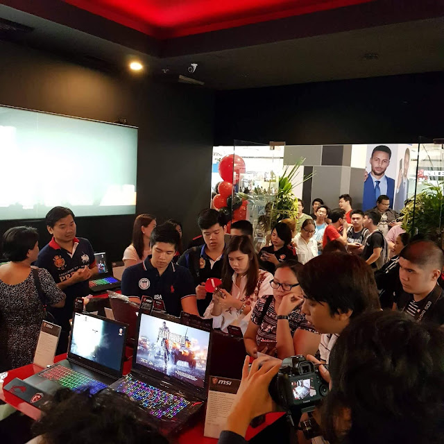 MSI Concept Store SM North Edsa Annex official launch
