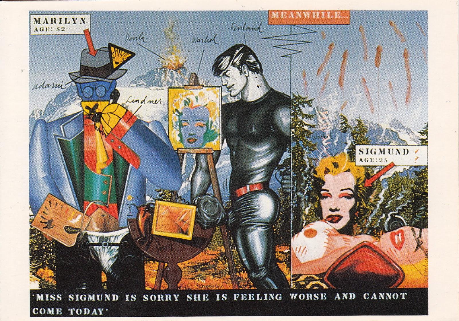 Jazz Stamps: Postcrossing # 19: Pop-Art, Germany