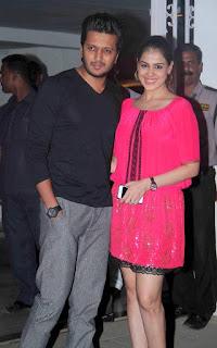 Riteish Deshmukh & Genelia D'souza