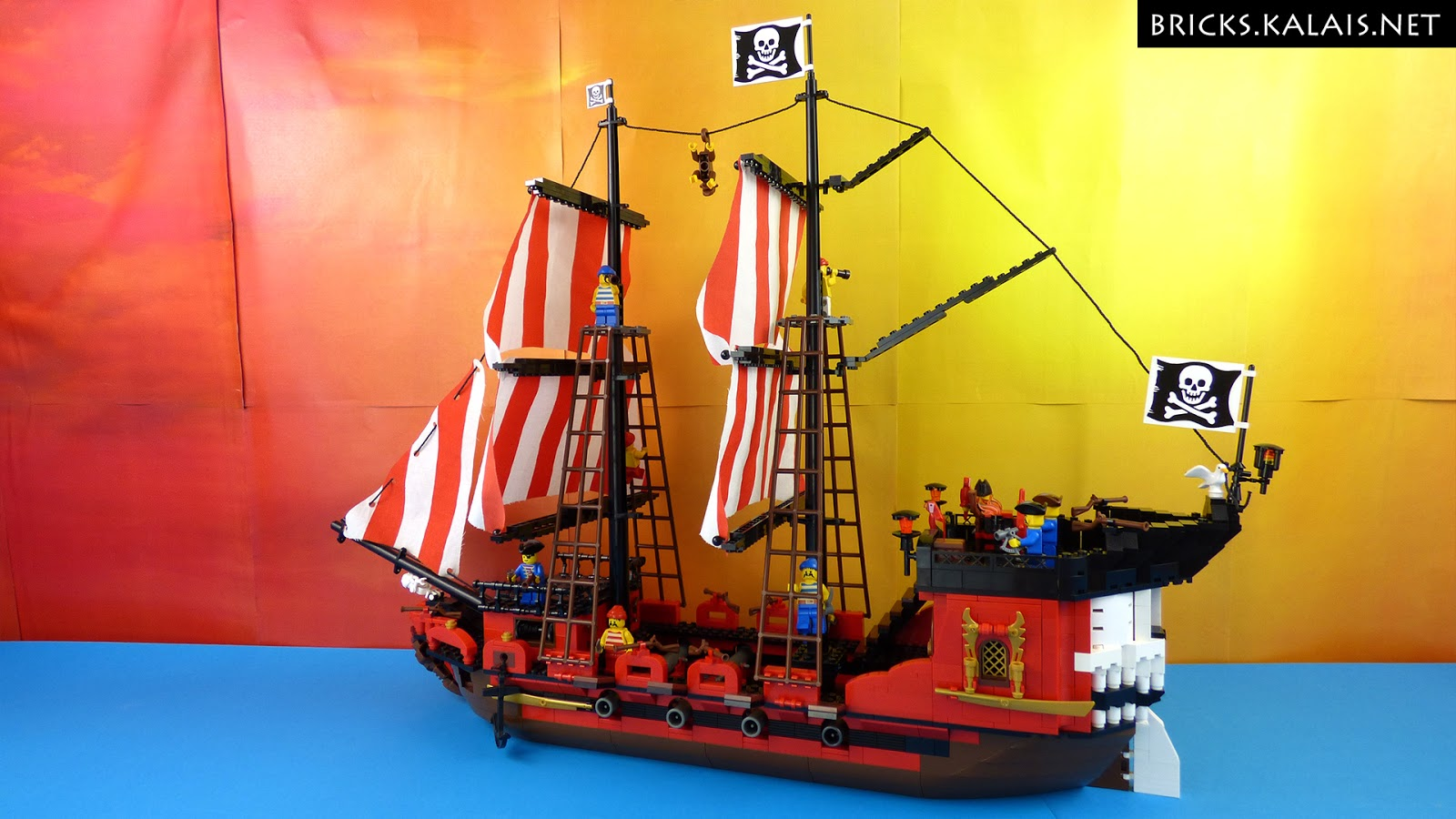 [MOC] Skulltail - The Pirate Ship
