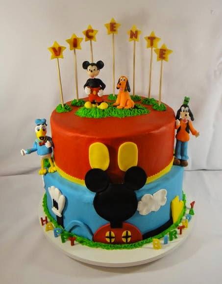Bolo cenográfico Mickey Mouse