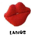 http://patronesamigurumis.blogspot.com.es/2017/11/labios.html