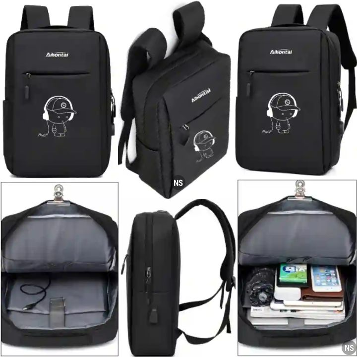 Aihontai Bags: Back-to-School Bookbag for Students and Pupils - Backpack for Books, Notepads, Notebooks, Tablets, Laptops and Other Schooling Items