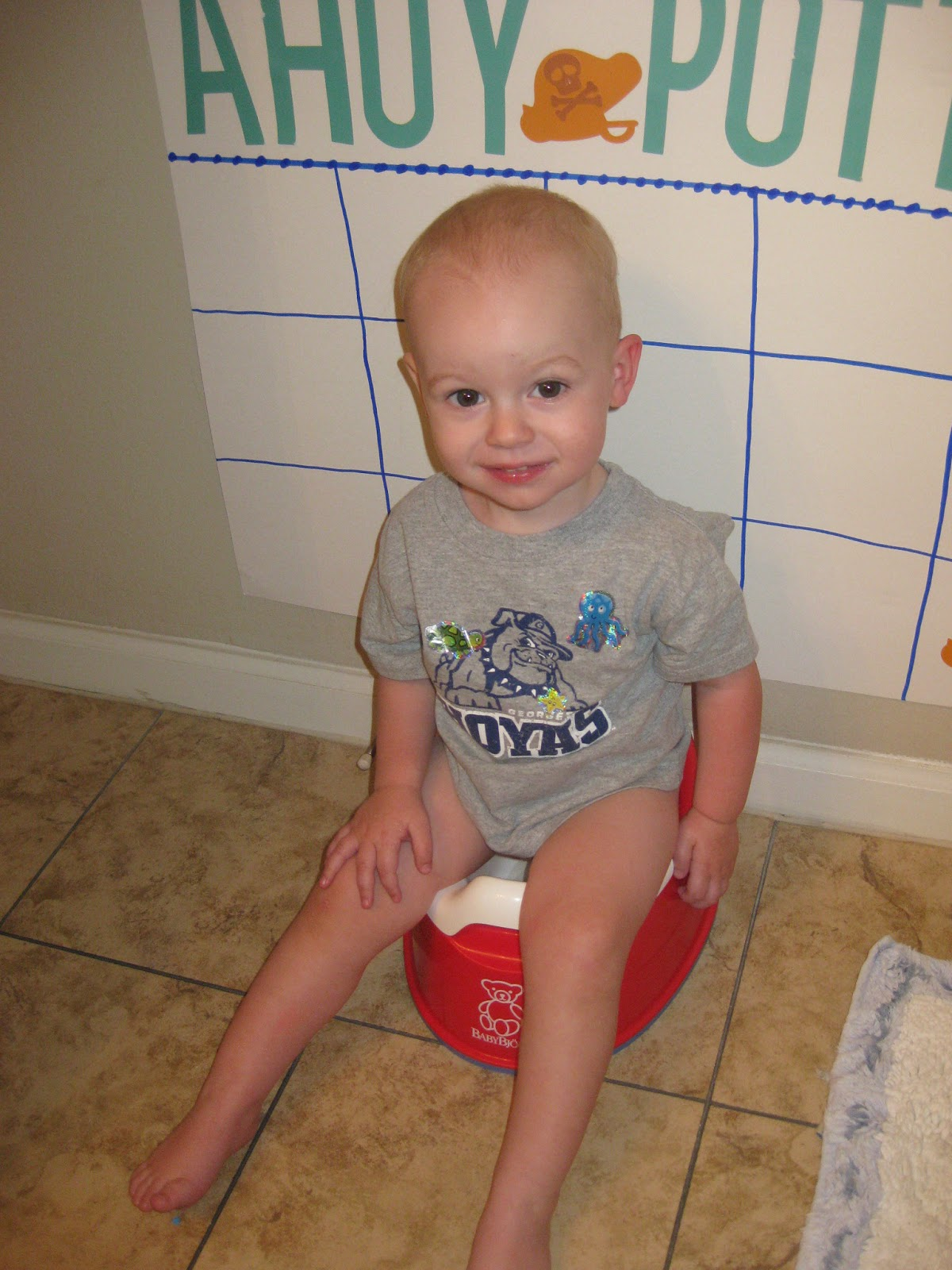 The Grigsby Family: Adventures in Potty Training