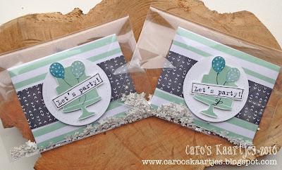 Stampin' Up! producten zijn verkrijgbaar via Caro's Kaartjes - carooskaartjes@hotmail.nl
